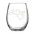 Love - Stemless Wine Glass