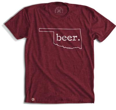 Beer. Oklahoma T-shirt (2 Color Options)