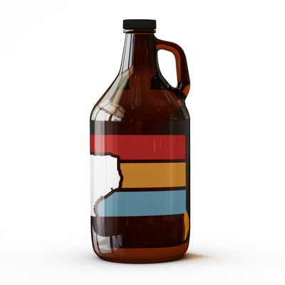 Stripes Texas Growler - 64 oz
