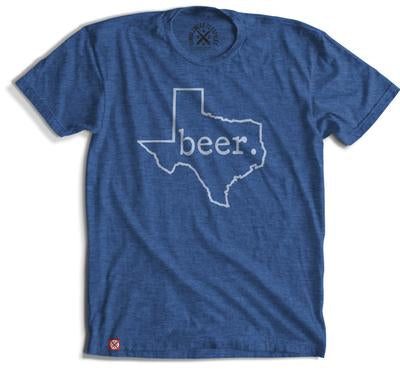 BEER. Texas T-shirt (4 Color Options)