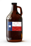 Texas Flag Growler - 64 OZ