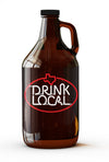Drink Local Neon Sign Growler - 64 OZ