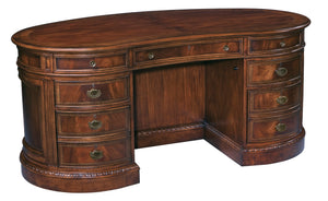 Hekman Kidney Desk 11340 - Curios And More