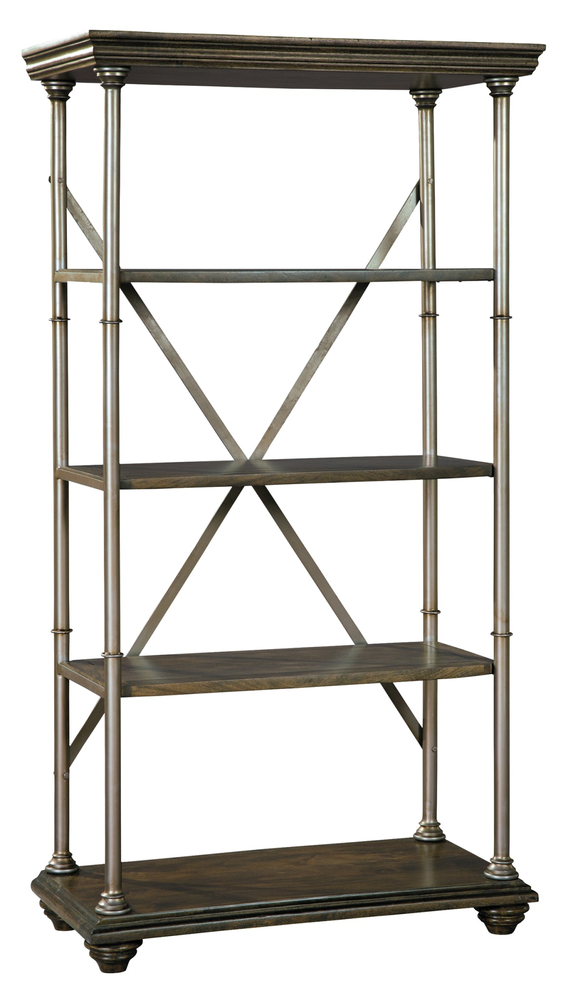 Hekman Office At Home Cambridge Etagere 27861 - Curios And More