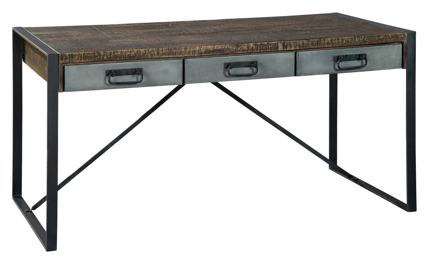Hekman Office At Home Industrial Desk 28053 - Curios And More