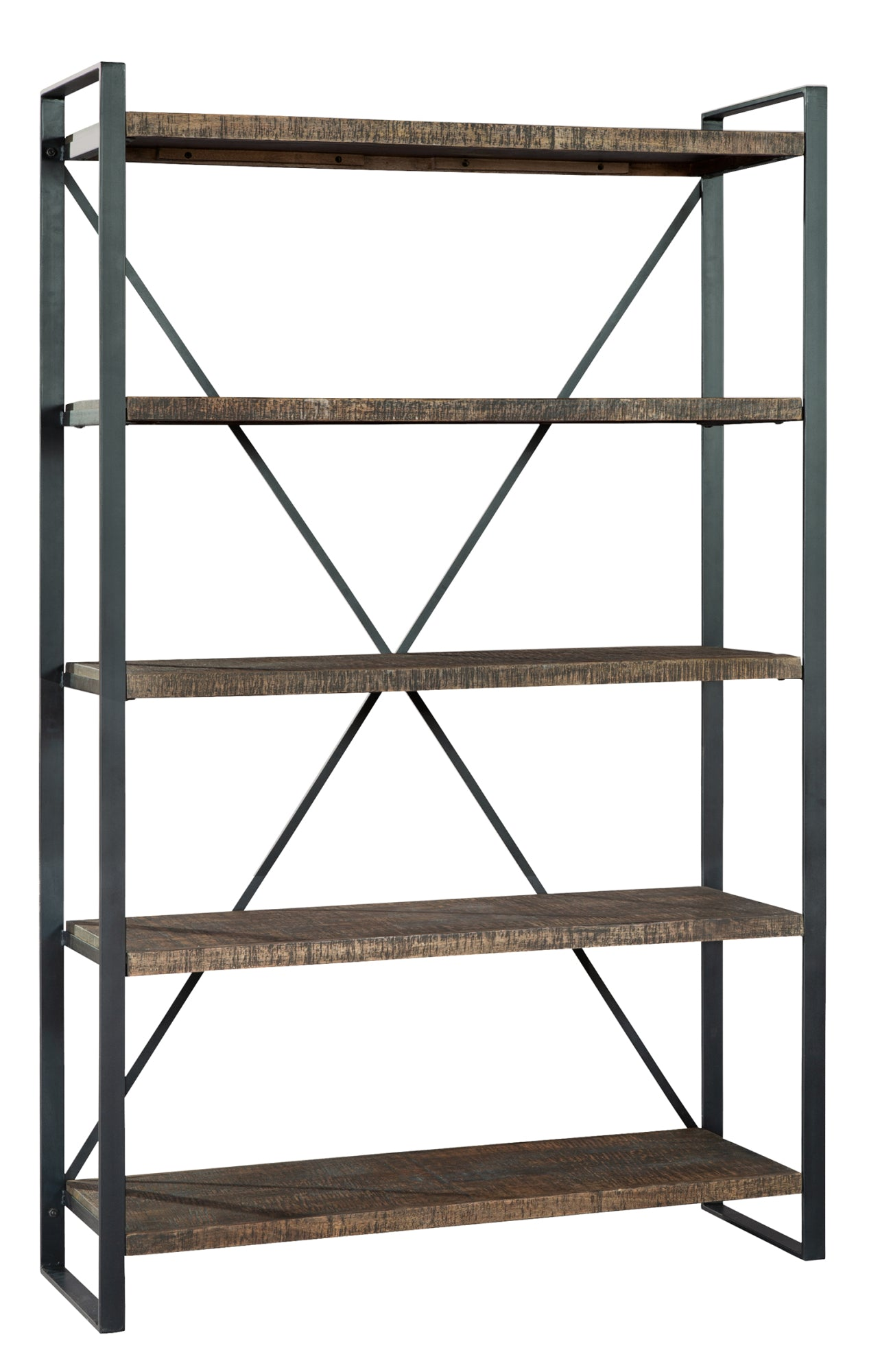Hekman Office At Home Industrial Bookcase 28055 - Curios And More