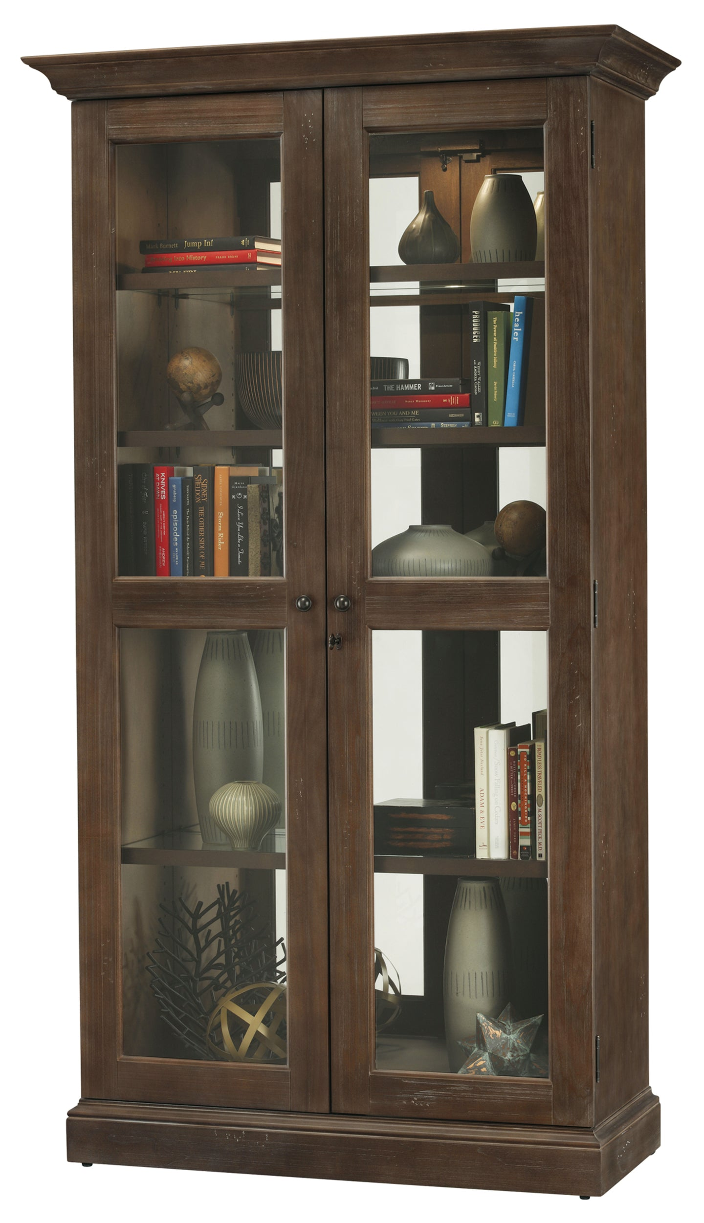 Howard Miller Lennon Display Cabinet 670005 - Curios And More