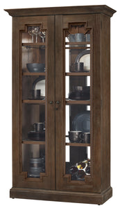 Howard Miller Chasman III Curio Cabinet 670012 - Curios And More