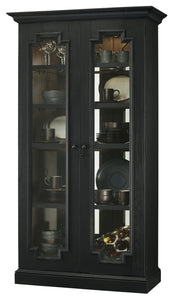 Howard Miller Chasman IV Curio Cabinet 670013 - Curios And More