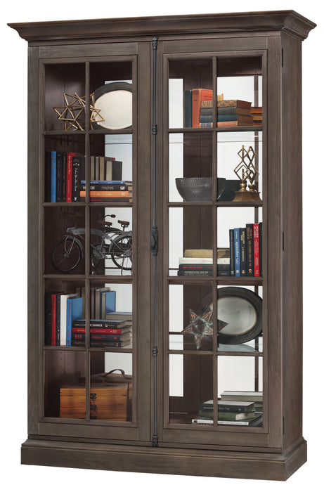 Howard Miller Clawson III Display Cabinet 670022 - Curios And More