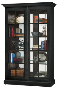 Howard Miller Clawson IV Display Cabinet 670023 - Curios And More