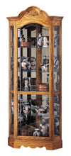 Howard Miller Wilshire Corner Curio Cabinet 680207 - Curios And More