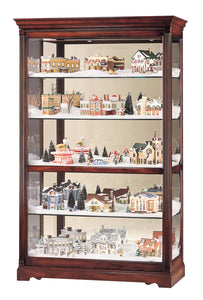Howard Miller Townsend Curio Cabinet 680235 - Curios And More