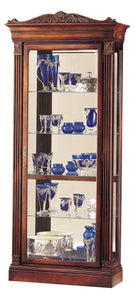 Howard Miller Embassy Curio Cabinet 680243 - Curios And More