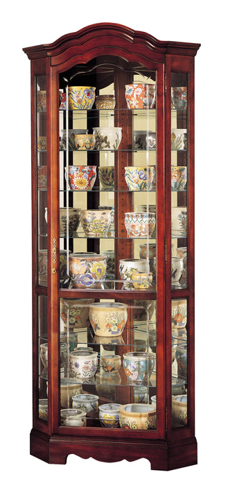 Howard Miller Jamestown Corner Curio Cabinet 680249 - Curios And More