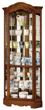 Howard Miller Jamestown II Corner Curio Cabinet 680250 - Curios And More