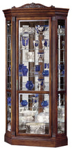 Howard Miller Embassy II Corner Curio Cabinet 680290 - Curios And More