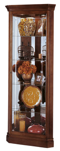 Howard Miller Lynwood Corner Curio Cabinet 680345 - Curios And More