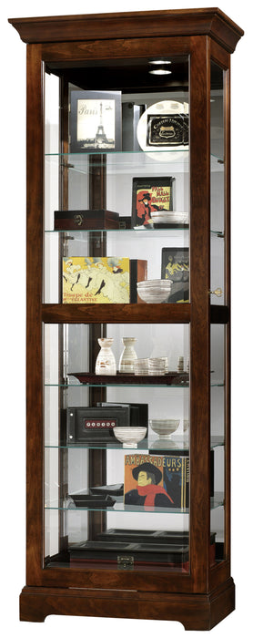 Howard Miller Martindale Curio Cabinet 680469 - Curios And More