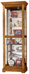 Howard Miller Moorland  Curio Cabinet 680471 - Curios And More