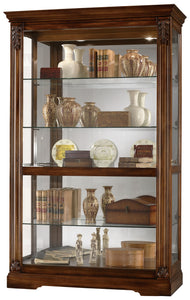 Howard Miller Ramsdell Curio Cabinet 680473 - Curios And More