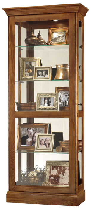 Howard Miller Berends II Curio Cabinet 680478 - Curios And More