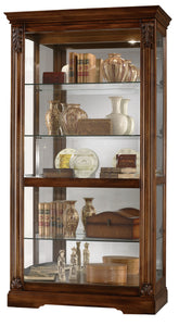Howard Miller Andreus Curio Cabinet 680479 - Curios And More