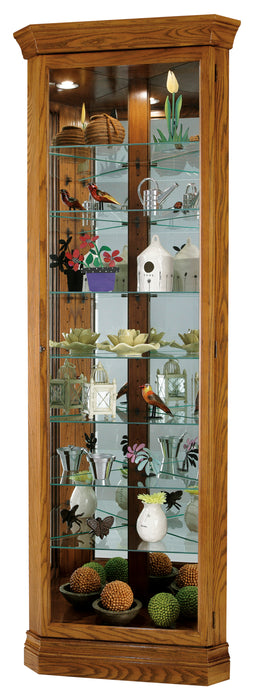 Howard Miller Dominic Corner Curio Cabinet 680485 - Curios And More