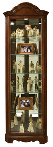 Howard Miller Murphy Corner Curio Cabinet 680495 - Curios And More