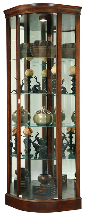 Howard Miller Marlowe Corner Curio Cabinet 680529 - Curios And More