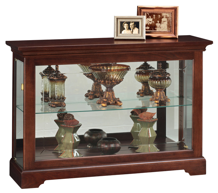 Howard Miller Underhill Curio Console Cabinet 680533 - Curios And More