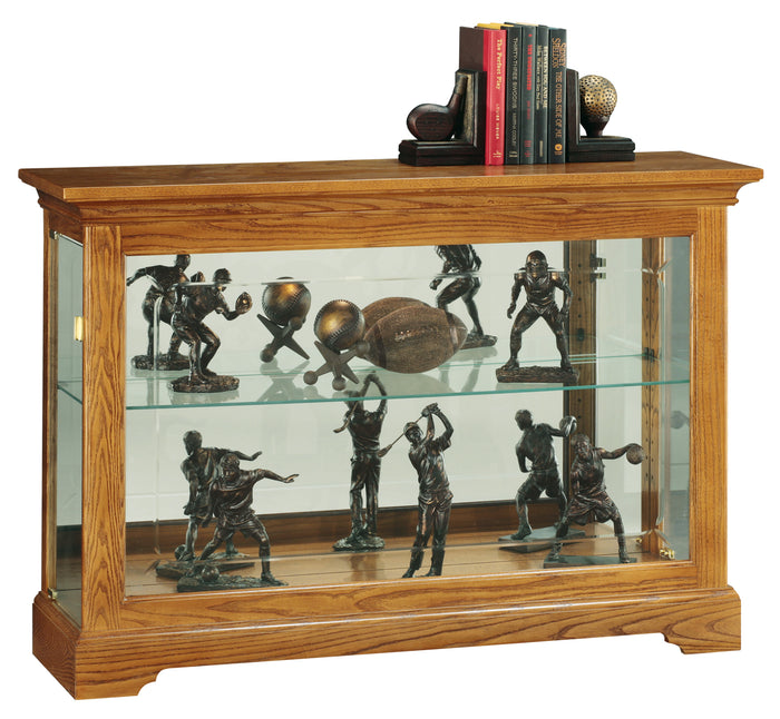 Howard Miller Burrows Curio Console Cabinet 680535 - Curios And More