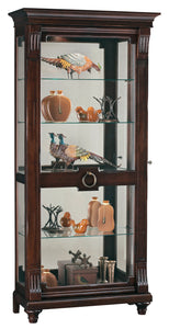 Howard Miller Brenna Curio Cabinet 680539 - Curios And More