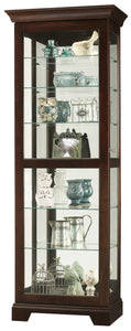 Howard Miller Martindale II Curio Cabinet 680577 - Curios And More