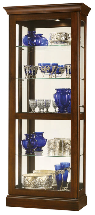 Howard Miller Berends IV Curio Cabinet 680580 - Curios And More