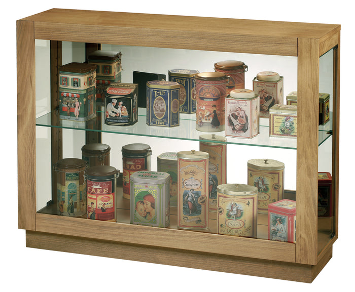 Howard Miller Marsh Bay Console Curio Cabinet 680586 - Curios And More