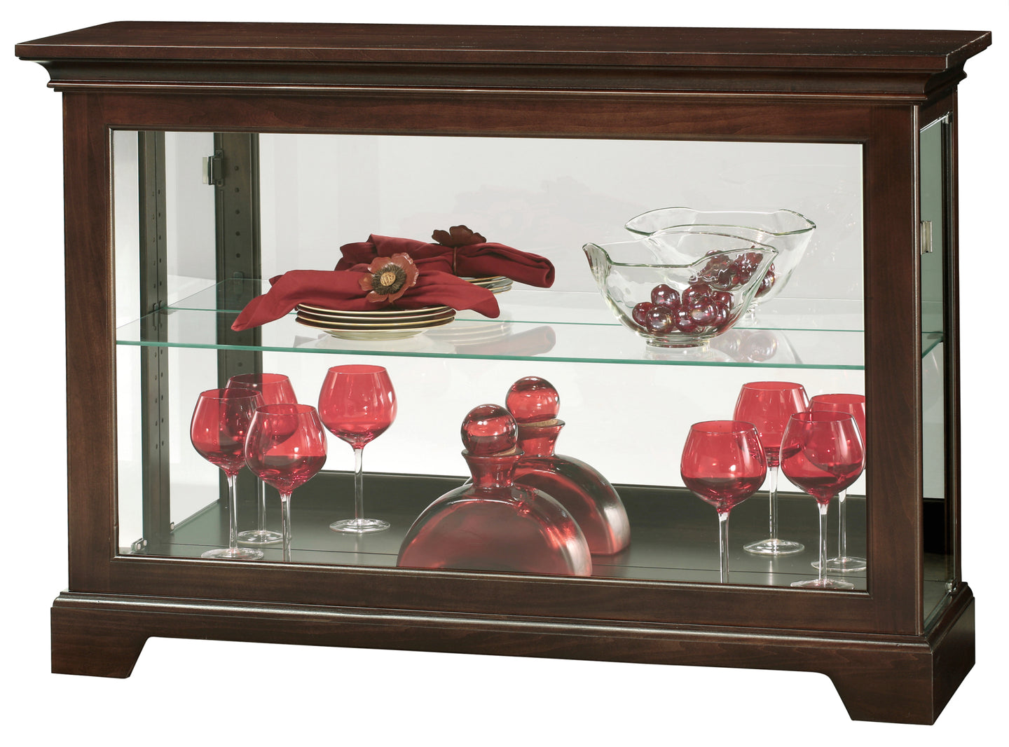 Howard Miller Underhill III Curio Console Cabinet 680596 - Curios And More