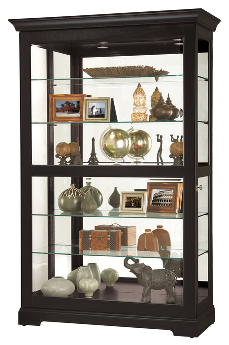 Howard Miller Kane II Curio Cabinet 680624 - Curios And More