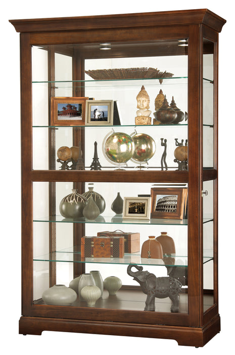 Howard Miller Kane Curio Cabinet 680625 - Curios And More