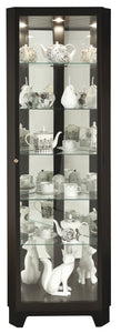 Howard Miller Melissa IV Corner Curio Cabinet 680631 - Curios And More