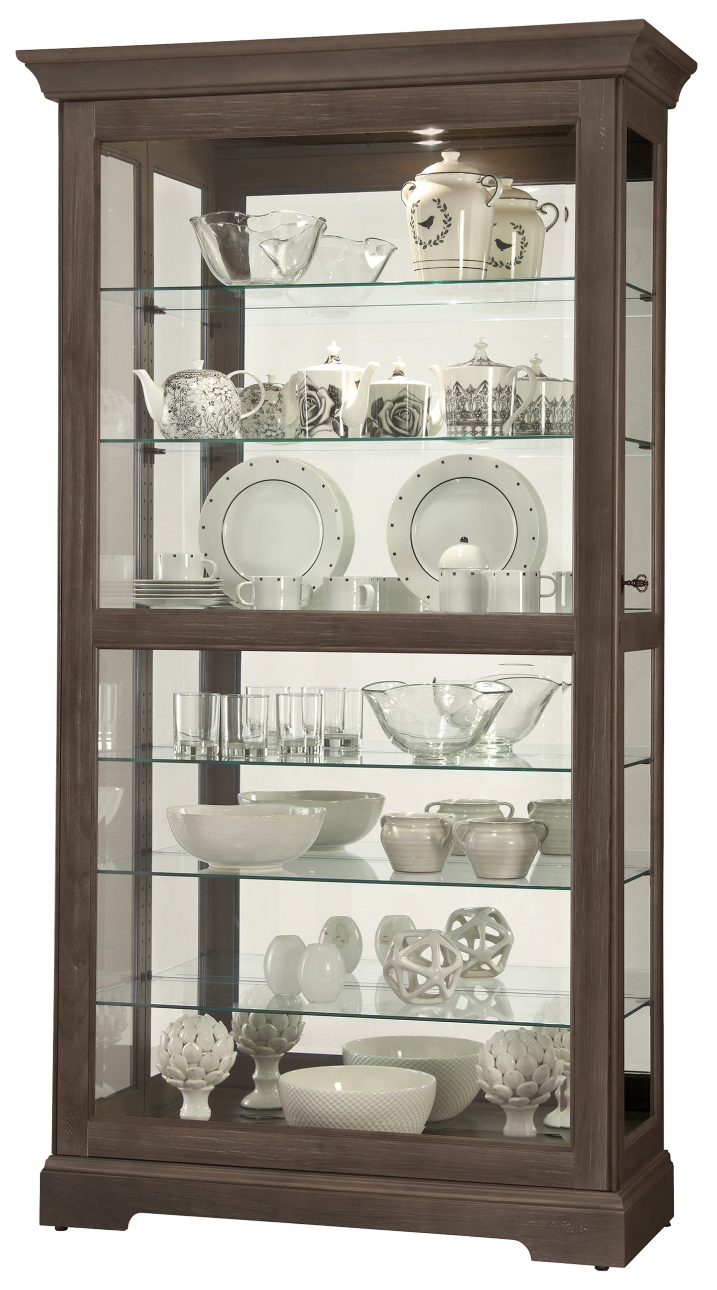 Howard Miller Tyler VI Curio Cabinet 680638 - Curios And More
