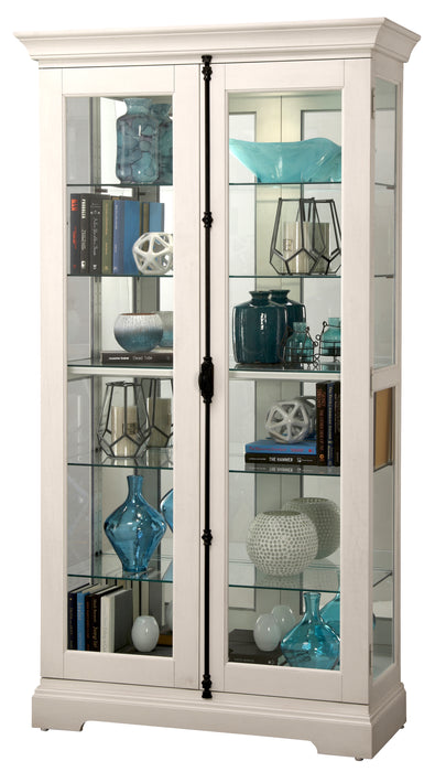 Howard Miller Waylon IV Display Cabinet 680656 - Curios And More