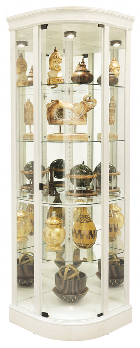 Howard Miller Marlowe IV Corner Curio 680665 - Curios And More