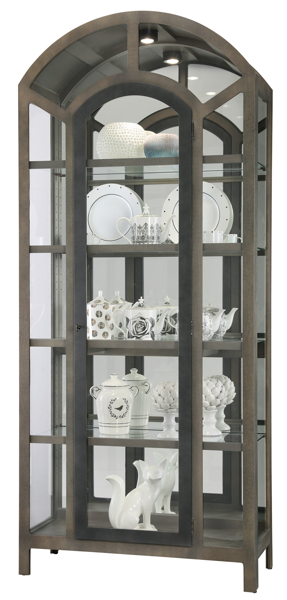 Howard Miller Reeko Curio Cabinet 680696 - Curios And More