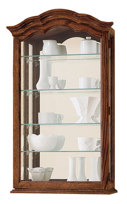 Howard Miller Vancouver II Curio Cabinet 685102 - Curios And More