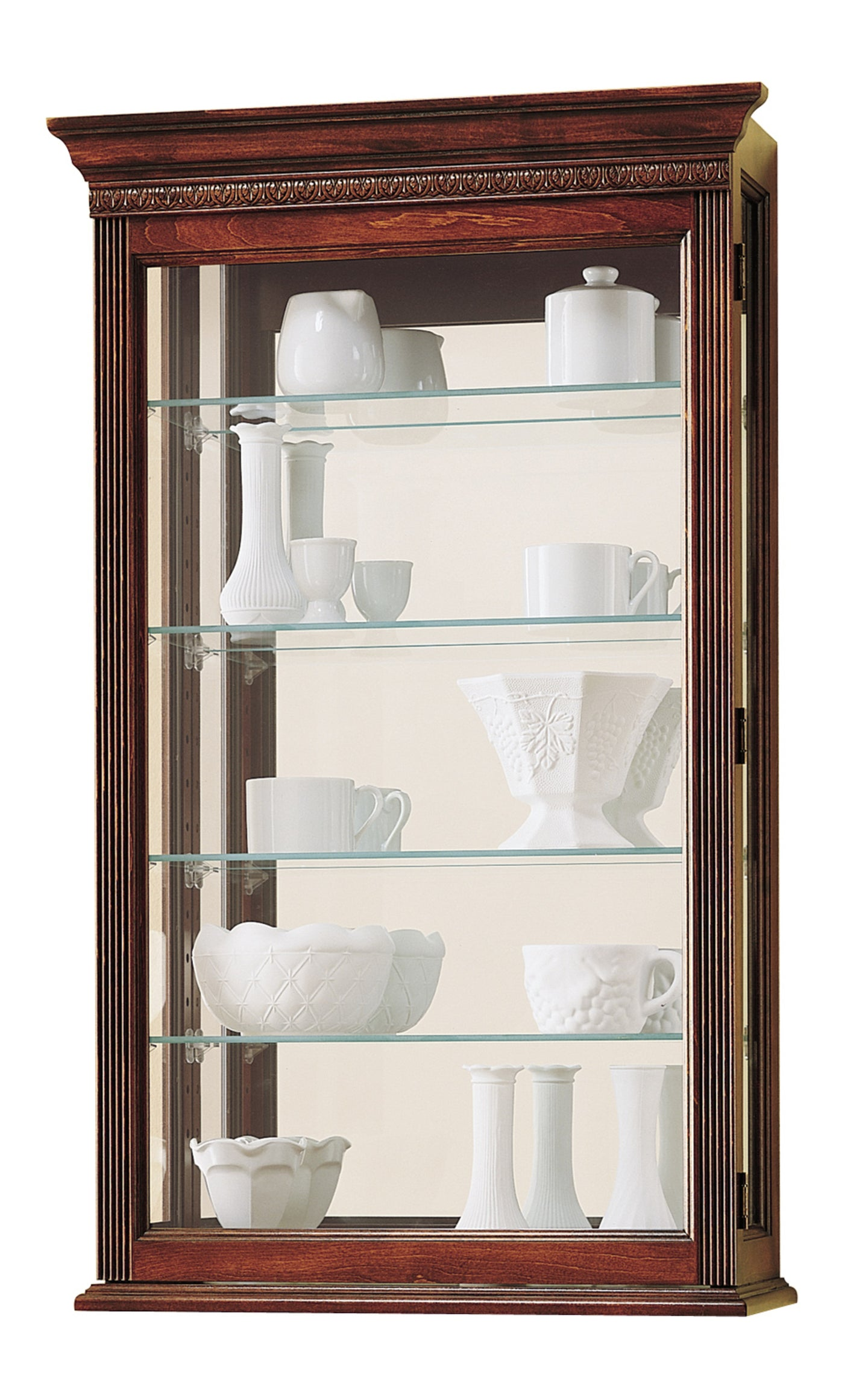 Howard Miller Edmonton Curio Cabinet 685104 - Curios And More