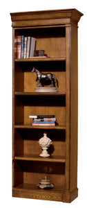 Hekman Office Executive Right Pier Bookshelf in Urban Ash Burl 79105 - Curios And More