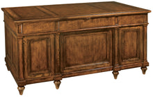 Hekman Office Junior Executive Desk in Urban Ash Burl 79110 - Curios And More