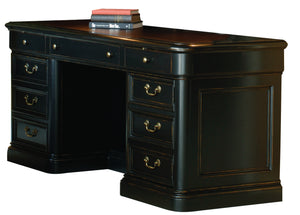 Hekman Office Louis Philippe Executive Credenza 79141 - Curios And More