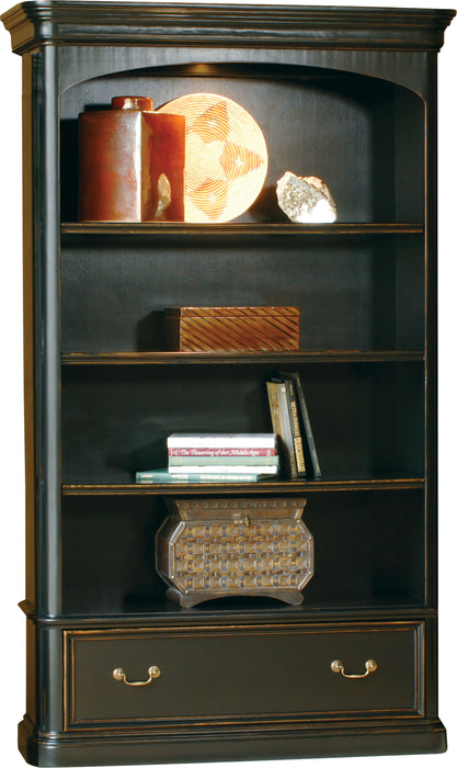 Hekman Office Louis Philippe Executive Center Bookcase 79144 - Curios And More